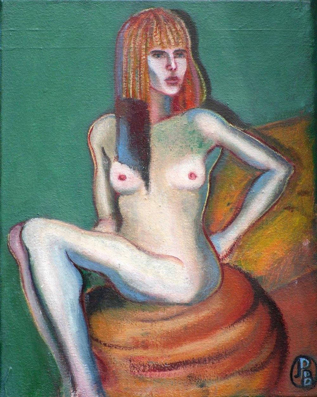 Piers Butler - Camilla - Oil on Canvas